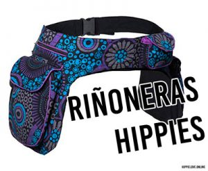 riñoneras hippies